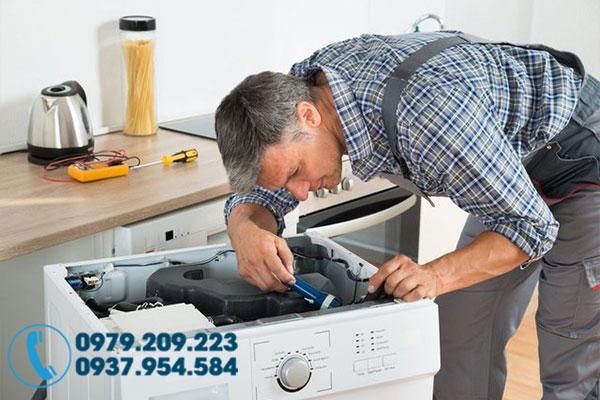 Cách vệ sinh máy giặt tại nhà 8