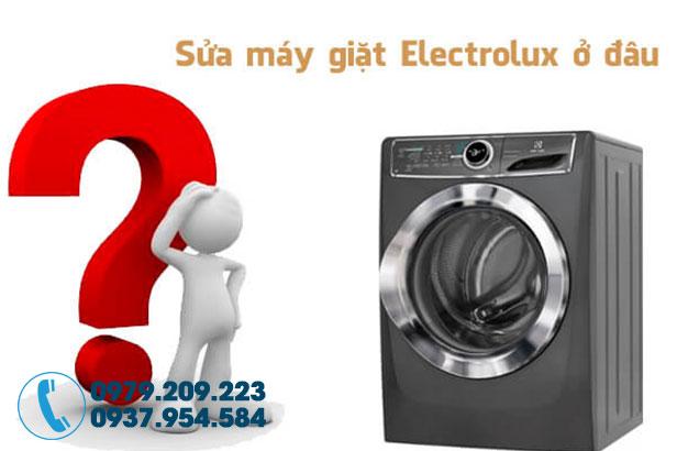 Sửa máy giặt electrolux tại Quận 2 1