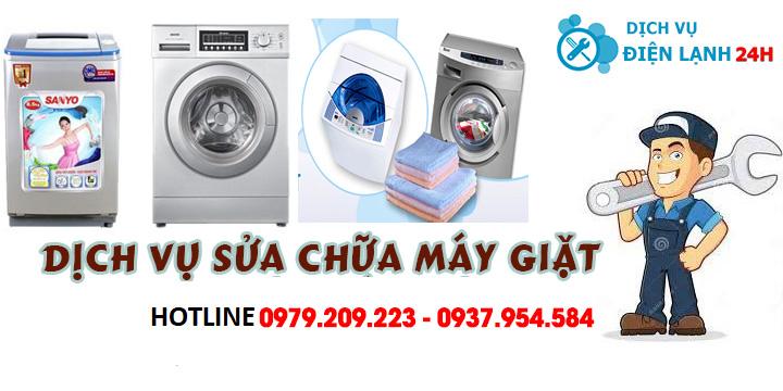 Sửa máy giặt tại quận 24